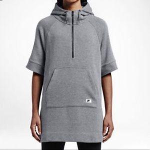 Nike Sportswear Modern Poncho Gray S